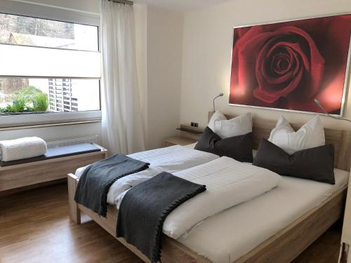 Ein Bett oder Betten in einem Zimmer der Unterkunft Dolcevita