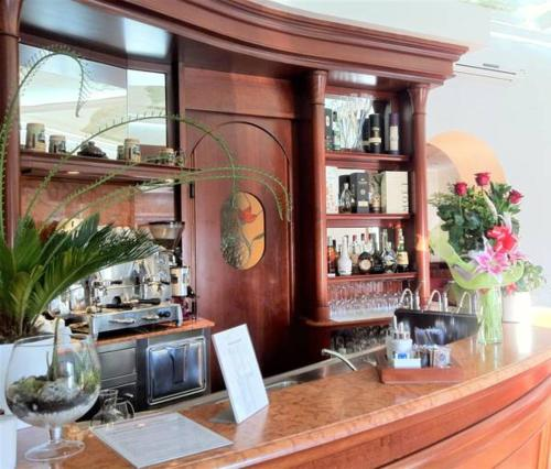 The lounge or bar area at Affittacamere Parella