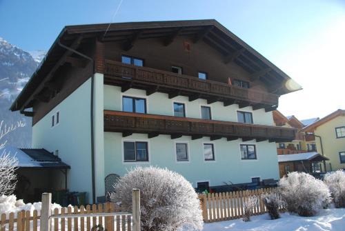 Ferienhaus Anger during the winter