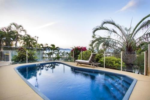 The swimming pool at or near Amazing Marina views for family