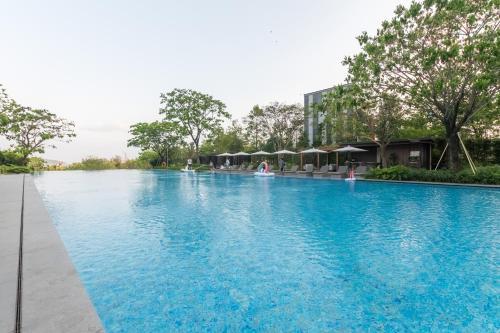 The swimming pool at or near Van-Pretty Residence Haitang Bay Sanya