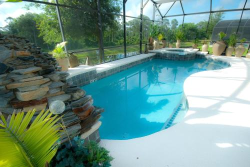 The swimming pool at or close to *****The Emerald Villa...