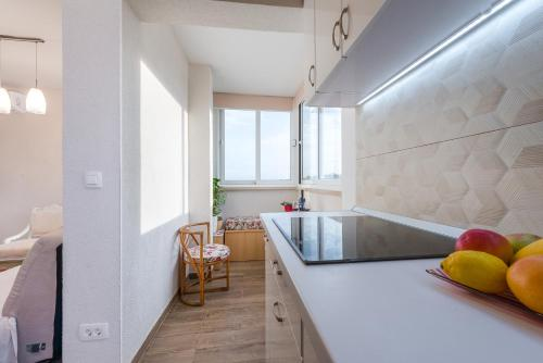 Kuhinja oz. manjša kuhinja v nastanitvi Apartment Kate