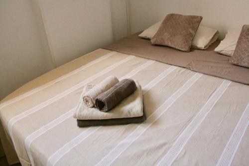 Cama o camas de una habitación en Studio El Faro
