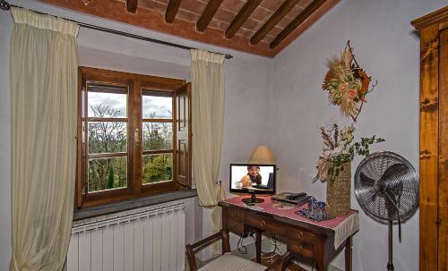 TV o dispositivi per l'intrattenimento presso Agriturismo Valliferone
