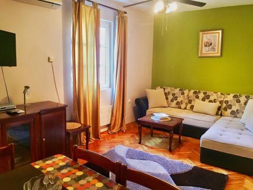 Krevet ili kreveti u jedinici u okviru objekta Apartments Old Town