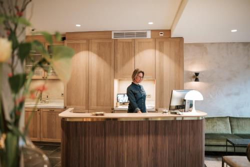 O saguão ou recepção de The Times Hotel