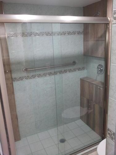 A bathroom at Hotel Marques de Cima