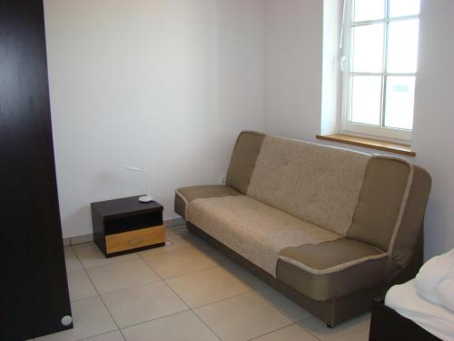 A seating area at Mylin