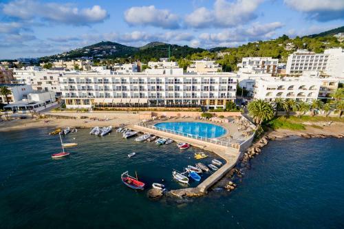 Hotel Simbad Ibiza & Spa с высоты птичьего полета
