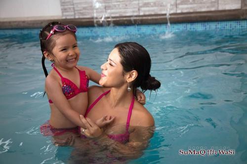 The swimming pool at or close to Sumaq Wasi Apart Hotel