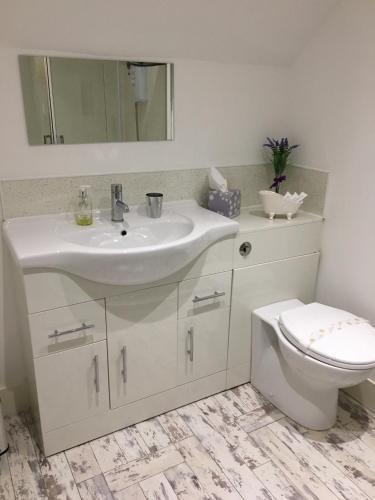 A bathroom at Northern lights