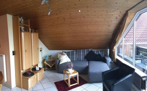 Ein Sitzbereich in der Unterkunft Carolinensiel/Harlesiel