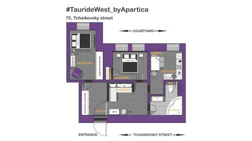 Планировка TaurideWest byApartica