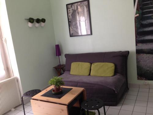 A seating area at Perrache Sainte Blandine