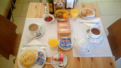 Завтрак для гостей Hotel Milagros Rio Riaza