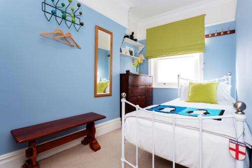 Un ou plusieurs lits dans un hébergement de l'établissement Veeve - Riverside Mansions