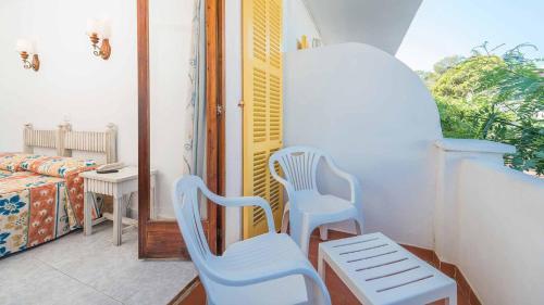 Balkon lub taras w obiekcie Hostal San Francisco