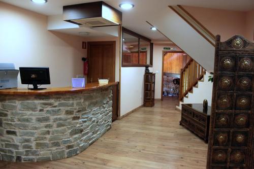 El vestíbulo o zona de recepción de Hotel Rural El Verdenal