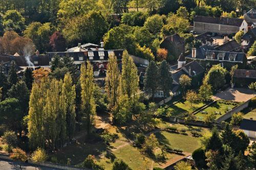 A bird's-eye view of Auberge du Bon Laboureur Chenonceaux