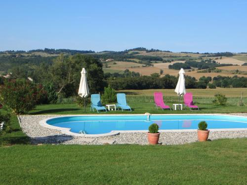 The swimming pool at or near La Maire