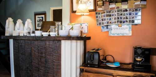 Tetera y cafetera en Lago Viedma B&B