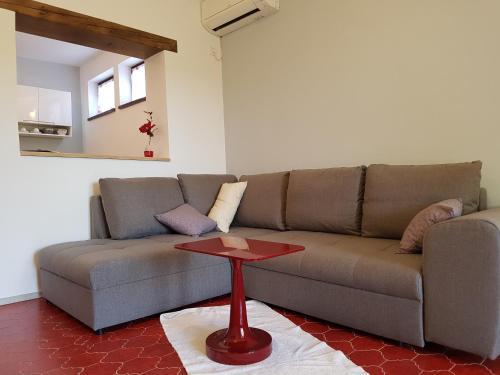 Гостиная зона в Apartments Siga