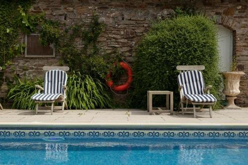 The swimming pool at or close to Rose in Vale Country House Hotel