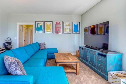 A seating area at Ocean TailsFour-Bedroom Home