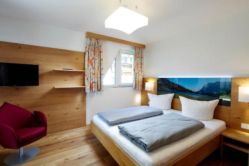 A bed or beds in a room at Apartment S