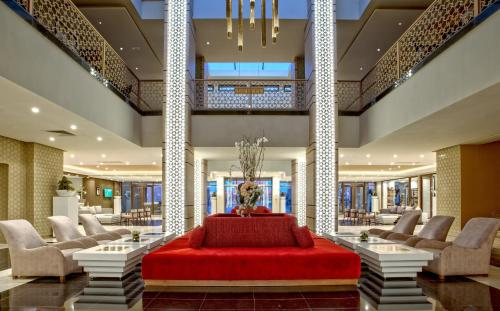 The lobby or reception area at Be Live Collection Marrakech Adults Only All inclusive