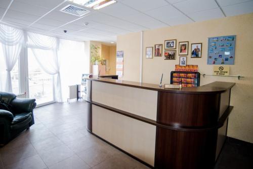 Лобби или стойка регистрации в Отель Профит