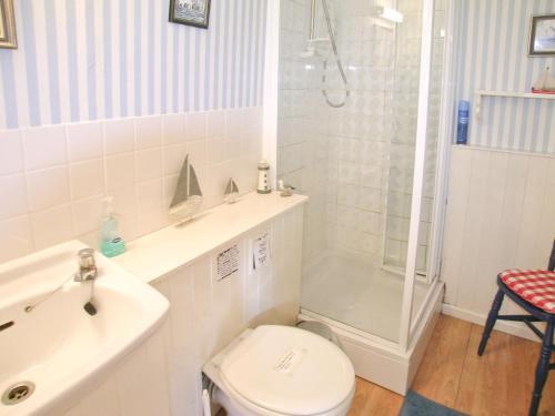 A bathroom at Secret Cottage
