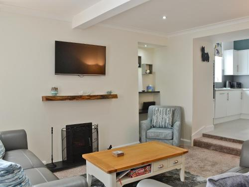 A television and/or entertainment center at Strowan