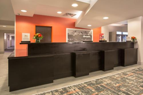 The lobby or reception area at Hampton Inn & Suites Denver-Downtown