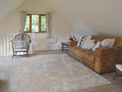 A seating area at Forest Cottage