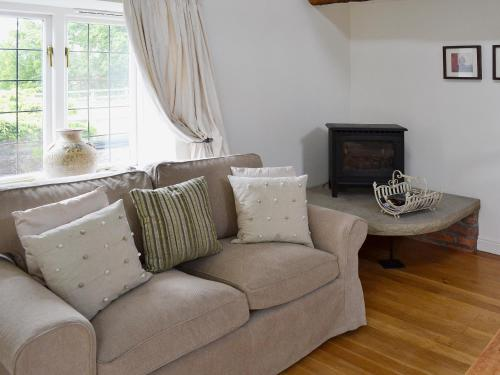 A seating area at Wee Bridge Farm Cottage