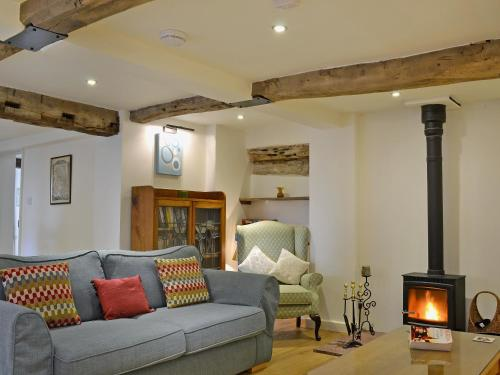 A seating area at Wrockwardine Cottage