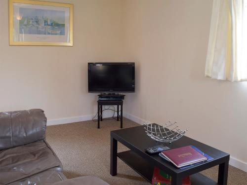 A television and/or entertainment center at Walnut Tree Cottage