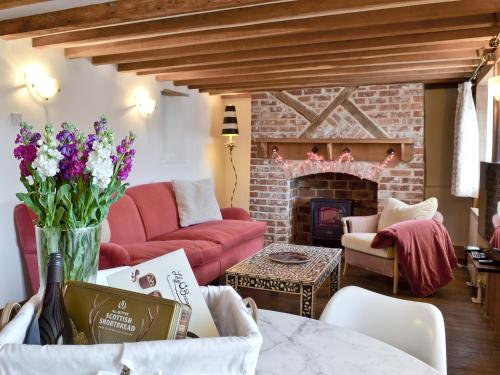 A seating area at The Old Thatch