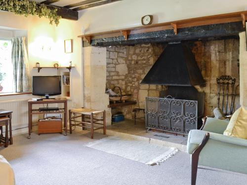A television and/or entertainment center at Rose Cottage