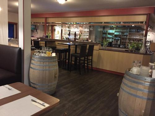 Lounge oder Bar in der Unterkunft Landgasthof Struckum
