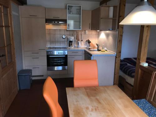 Küche/Küchenzeile in der Unterkunft Ferienhaus Beckmann