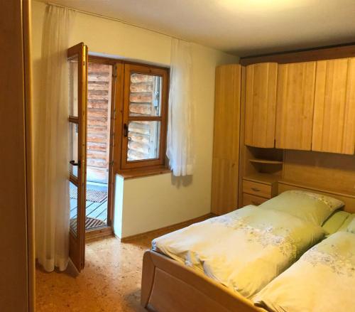 Ein Bett oder Betten in einem Zimmer der Unterkunft Ferienhaus Beckmann