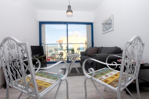Zona de estar de Aguamarina by Sea You There Fuerteventura