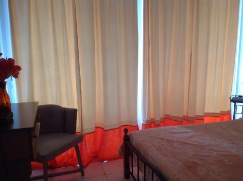 Prostor za sedenje u objektu Panorama