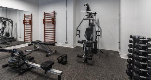 Gimnasio o instalaciones de fitness de Panamericana Hotel Antofagasta