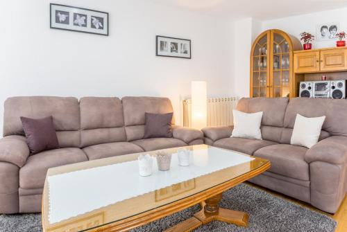 Гостиная зона в Apartments Contessa