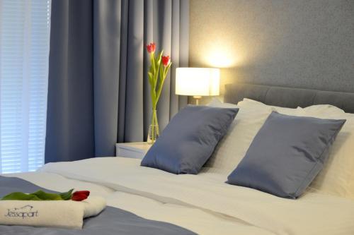 Lova arba lovos apgyvendinimo įstaigoje JessApart – Ochota Apartments