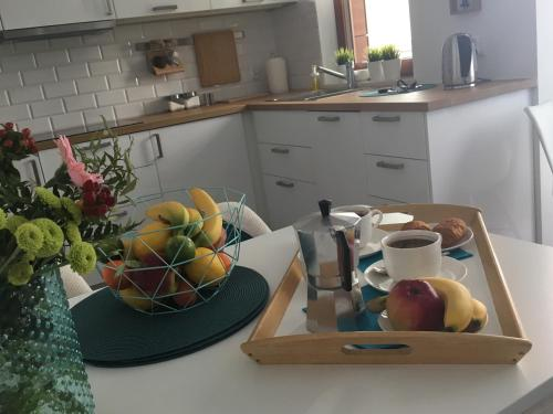 Kuchnia lub aneks kuchenny w obiekcie Apartament Garnizon No. 1